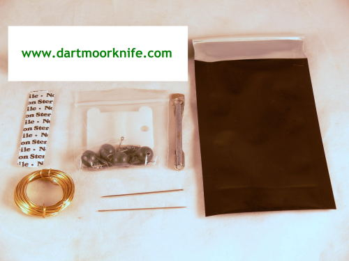 Survival Kit Contents for Dartmoor Knife