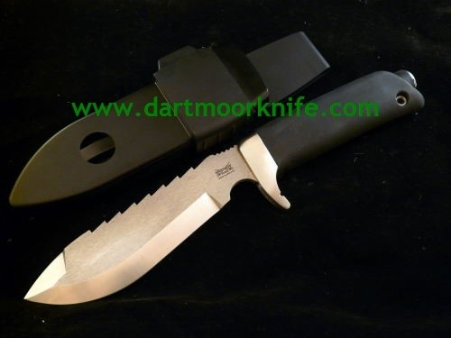 Dartmoor Knife in Steel Finish - Grade A Minus