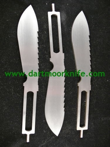 3 x Unground Wilkinson Sword Dartmoor Blades