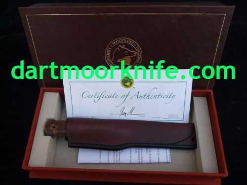 RAY MEARS KNIFE FOR SALE WOODLORE 25th ANNIVERSARY